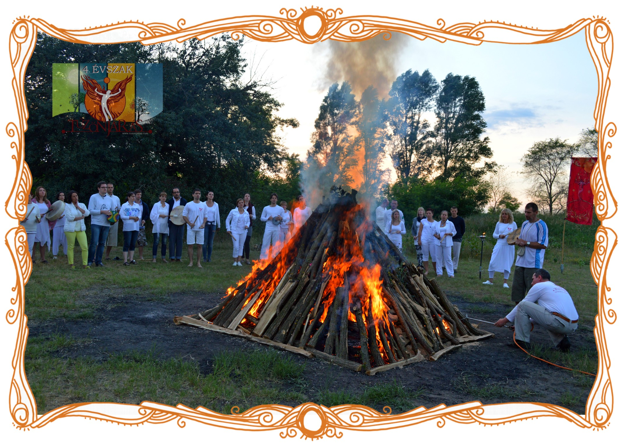 2015. Summer - 4 Seasons Firewalking